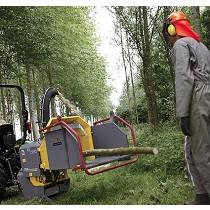 Trituradoras para ramas a toma de fuerza de tractor