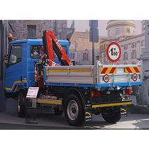 Grúas articuladas sobre camión