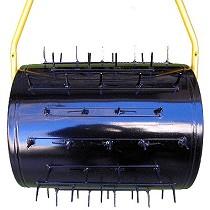 Rodillos de pinchos aireadores de empuje manuales