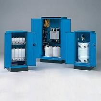 Armarios para líquidos contaminantes e inflamables