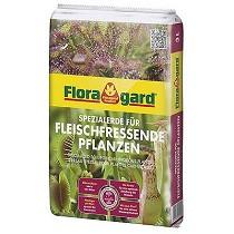 Sustratos especiales para plantas carnívoras