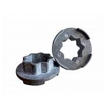 Separador de aluminio