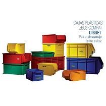 Cajas de plástico apilables