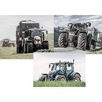 Tractores de cuatro cilindros