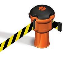 Barreras retráctiles para seguridad y gestión de residuos