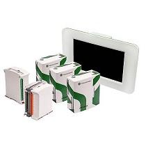CPUs de PLC y las pantallas táctiles