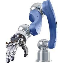 Mano robótica de agarre antropomórfica