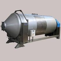 Vinificador rotatorio horizontal
