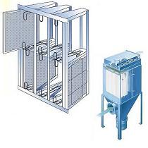 Sistemas de filtración de aire y gases