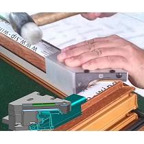 Sistema para soldar y repasar el cordón de soldadura