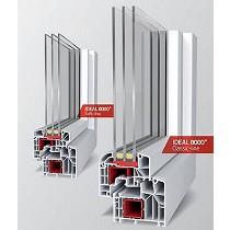Sistemas de ventanas y puertas de PVC
