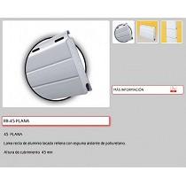 Persianas de aluminio laminado