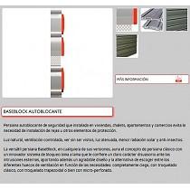 Persianas aluminio seguridad