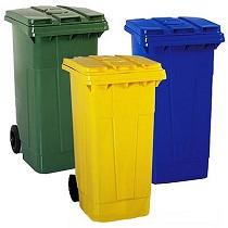 Cubos de basura de 240 litros