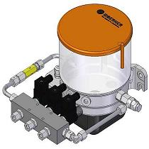 Bombas para selección de circuitos de lubricación