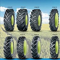 Neumáticos diagonales estándar
