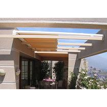 Toldos para barandillas y techos de cristal para invernaderos