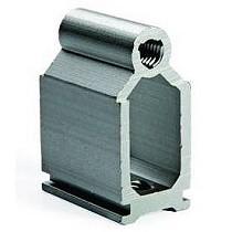 Uniones para perfiles de carpintería de aluminio