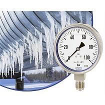 Manómetros resistentes a bajas temperaturas