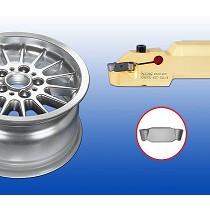Plaquitas para el mecanizado de llantas de aluminio