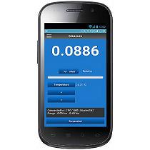 App para controlar un manómetro digital de precisión