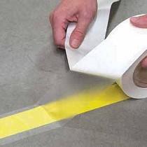 Cubiertas transparentes para las cintas de marcaje