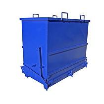 Contenedor apertura inferior 1.300 litros