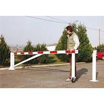 Barreras de seguridad giratoria con rueda