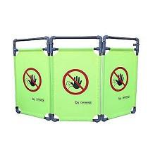 Barreras plásticas para señalización