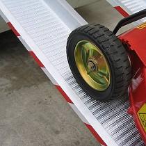 Rampas de carga para ruedas estrechas