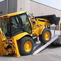 Rampas de carga de vehículos muy pesados