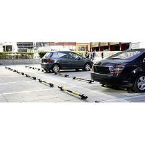Protecciones metálicas de suelo para aparcamiento