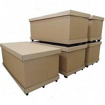 Contenedores modulables de cartón