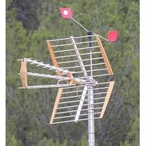 Espantapájaros para antenas