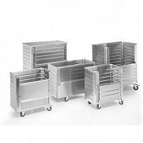 Carros de aluminio con paredes nervadas