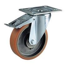 Ruedas con núcleo de fundición de hierro y cubierta de poliuretano