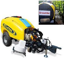 Máquina para eliminar malas hierbas en viña y frutales