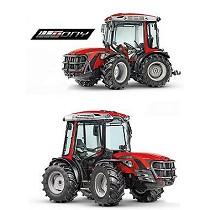 Tractor compacto reversible articulado