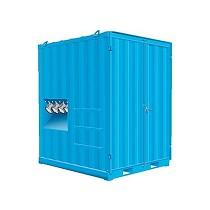 Unidades de aspiración en contenedor para industria pesada