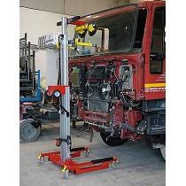 Elevadores para instalación de lunas en camiones y furgonetas