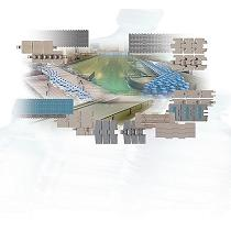 Cadenas y mallas modulares plásticas