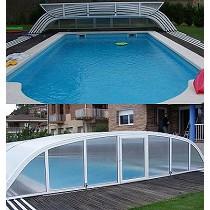 Cobertor para piscina particular