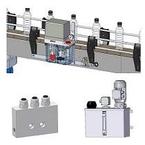 Equipos y componentes para sistemas de lubricación seca