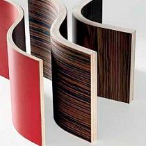 Paneles de contrachapado altamente flexible