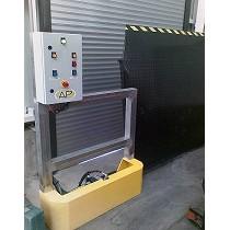 Muelle de carga vertical