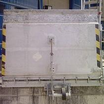 Pasarela de carga de aluminio