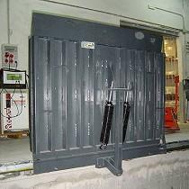 Pasarelas para carga de acero