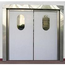 Puertas batientes de polietileno
