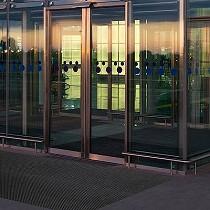 Alfombras de entrada exterior