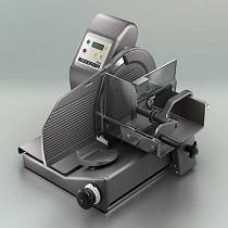 Cortadora vertical manual con controladora de peso